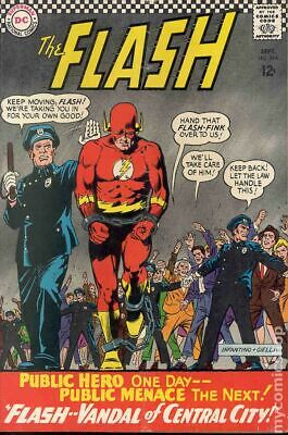Flash (1st Series DC) #164 1966 VG- 3.5 Stock Image Low Grade