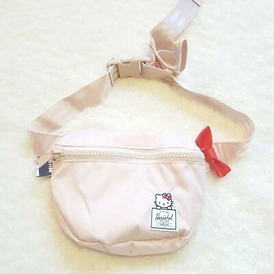 3a944731423 Herschel Supply Co x Hello Kitty Fifteen Hip Pack Fanny Pack Cameo Rose  Pink NWT