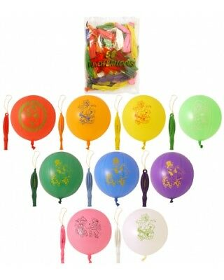 Bulk Wholesale Job Lot 200 Assorted Punch Balloons Toys
