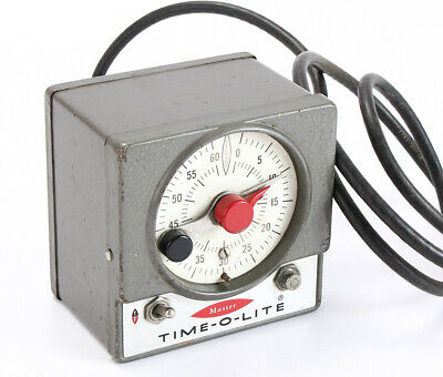 Industrial Timer Darkroom Time-O-Lite Model M-59/202110