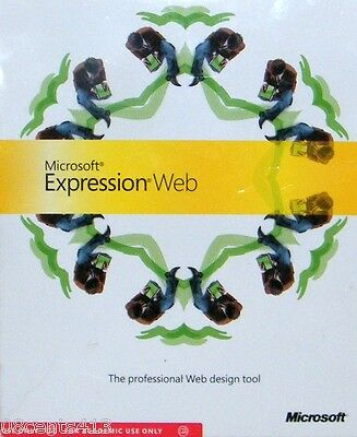 Microsoft Expression Web (PC) A Professional Web Design Tool To Build Web Sites