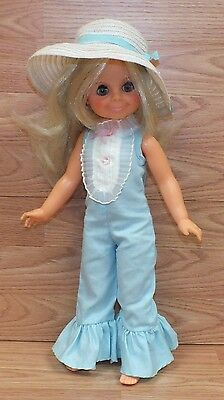 Vintage 1970 Genuine Ideal Toy Corp. Blonde Hair Growing Hair Doll READ