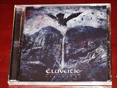 Eluveitie: Ategnatos CD 2019 Nuclear Blast Records USA NB 4869-2 NEW