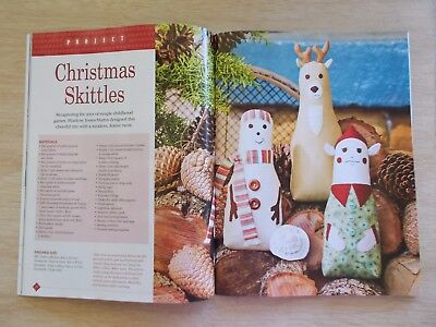 Delightful Country Threads Vol 16 #12~Xmas~Quilts~Stockings~Skittles~Embroidery