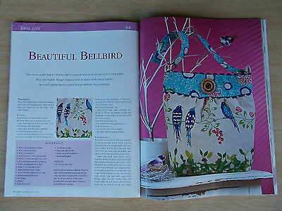 Patchwork & Stitching Vol 12 #5~Quilts~Doll~Cushion~Bag~Placemats~Embroidery...
