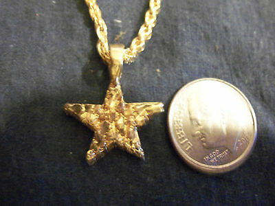 bling gold plated military star parachute pendant charm hip hop necklace JEWELRY