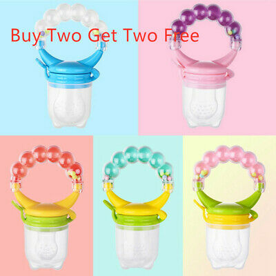 Baby Feeding Pacifier Fresh Food Fruit Feeder Infant Dummy Soother Excellent