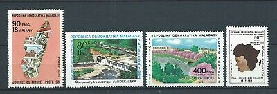 MADAGASCAR - 1980-81 YT 182 à 185 - POSTE AERIENNE - TIMBRES NEUFS** MNH LUXE