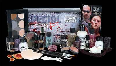 Mehron Special Effects Fx Professional Pro All-Pro Complete Makeup Kit Set