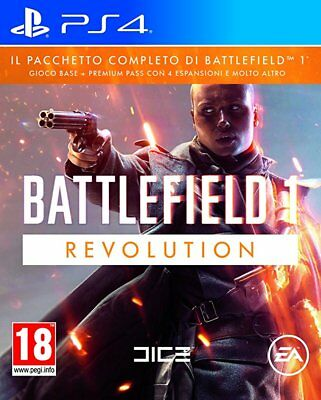 Videogames Bf1 Revolution Ps4 Italiano Playstation 4 Battlefield 1 Revolution