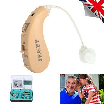 KXW-210 Mini Portable Adjustable Digital Hearing Aid Behind-ear Sound Amplifier