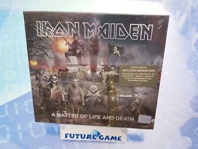 Iron Maiden A Matter Of Life And Death Cd+Dvd Limited Digipack 2006 - Nuovo