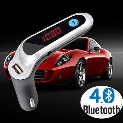 Adapter Music Radio Car Mp3 Audio Player FM Transmitter USB Charger Bluetooth