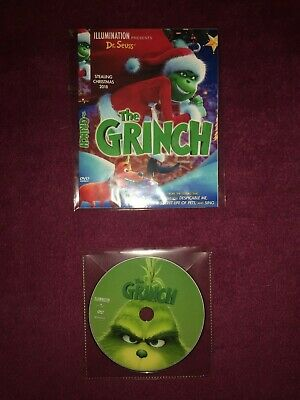 The Grinch (2019) DVD