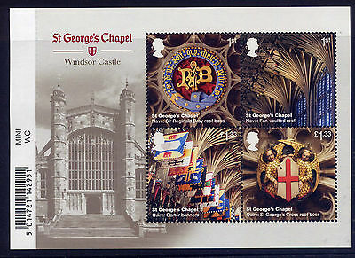 GB 2017 WINDSOR CASTLE St.GEORGE'S CHAPEL MINIATURE SHEET MNH