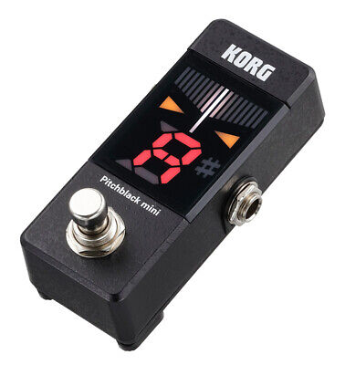 Korg Pitchblack Mini Tuner, Black (NEW)