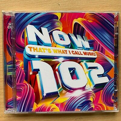 Now That's What I Call Music Vol.102 (2019) Chart Rock Pop Compilation CD
