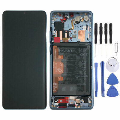 Huawei Display LCD Rahmen für P30 Pro Service 02352PGH Breathing Crystal Pack