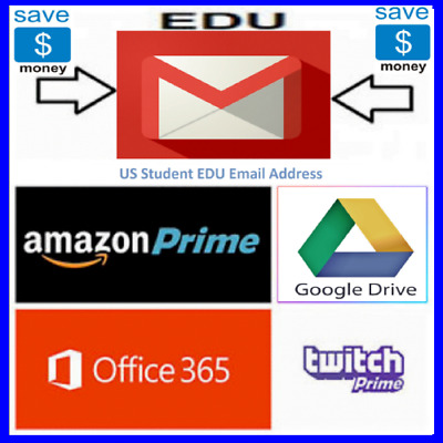 FAST EDU E-mail Unlimited Googl Drive + Free 6 Months Amazon Prime + Offis 365