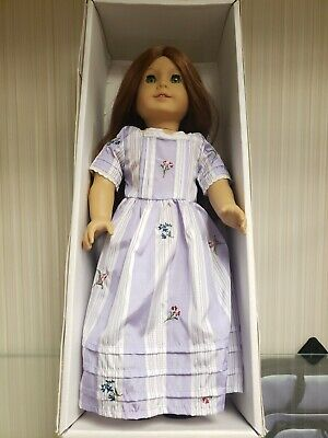 "18"" American Girl Doll Felicity Merriman with Purple Dress and Black Shoes"