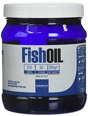Yamamoto Nutrition Fish OIL integratore di acidi grassi essenz(200 softgel)