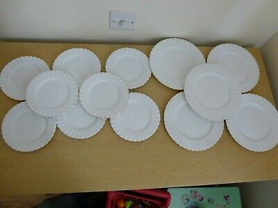 """13 Royal Albert Val D'Or Plates 8 x Side Plates 5 x 8.25"""" Plates"""