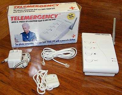 Telemergency Feel Secure Product (Pro-Elite 700C) Help is on the Way! UNTESTED