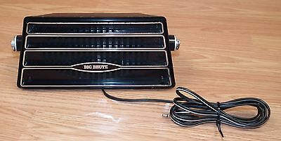 Vintage Big Brute Wedge Stereo & Car Radio CB Speaker with 2.5mm Auxiliary Cord
