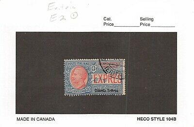 Lot of 2 Eritrea Used Stamps Scott # E2 & 42 #137213 R