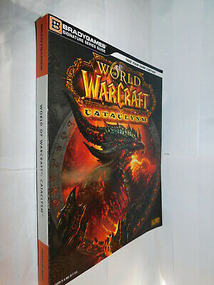 Bradygames series guide World of Warcraft Cataclysm PB book WOW gaming guide