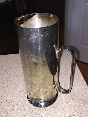 Vintage Oneida Silversmiths Silver Plated Pitcher
