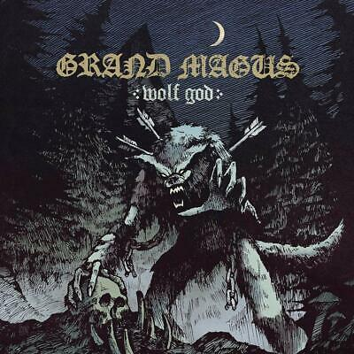 GRAND MAGUS WOLF GOD CD ALBUM (Released April 19th 2019)