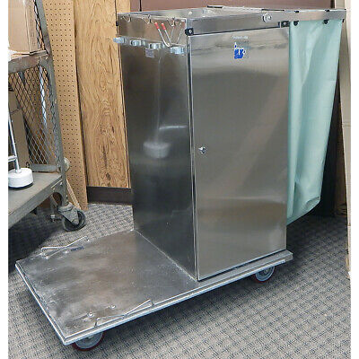 Rolls Royce F36 Durable Stainless Steel Cleaning Cart