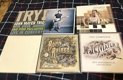 john mayer the complete 2012 performances collection vinyl