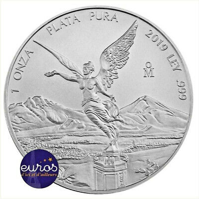 MEXIQUE 2019 - Libertad - 1 Oz (once) - Argent 99,99‰ - Bullion Coin