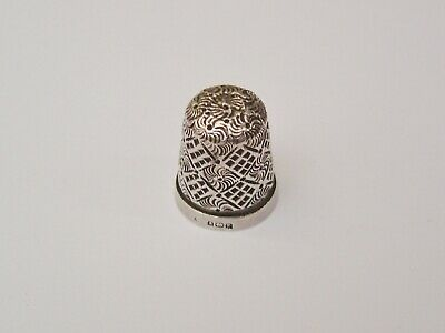Sterling Silver Silver Hallmarked Thimble