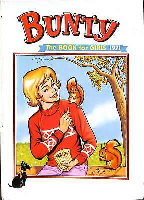 The Bunty Book for Girls 1971, Anon, Good Condition Book, ISBN