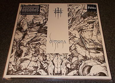 Fehler-Dissona-2012 Lp-Clear Vinyl-Limited To 100 Only-Razorblade-New