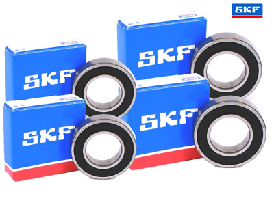 4 Trailer Wheel SKF Bearings for Daxara 107 127 137 (2 Hubs) SKF bearings