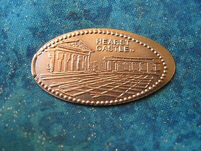 HEARST CASTLE CALIFORNIA Elongated Penny Pressed Smashed 25