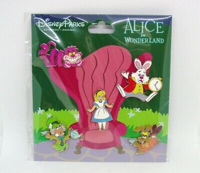 Disney Trading Pins ***  ALICE IN WONDERLAND *** Booster Set of 5