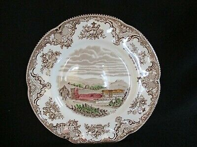 Johnson Brothers - OLD BRITAIN CASTLES BROWN - Salad Plate