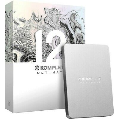 Native Instruments Komplete 12 Ultimate Collectors Edition Upgrade Ultimate 8-12