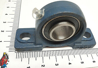 "1-7/16"" ID Pillow Block Bearing UCP207-23 Overall length is 6.57"" Width 1.875"""