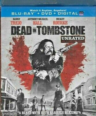 DEAD IN TOMBSTONE Blu Ray DVD NEW SEALED FREE SHIP TRACK IN US