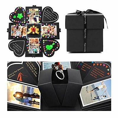 Huker Explosion Box Scrapbook Creative DIY Photo Album de Accesorios para