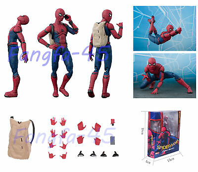 6'' Spider-Man Homecoming Spiderman PVC Action Figure Collectible Model Toys