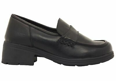 New Roc Dallas Senior Older Girls/Ladies Leather Shoes
