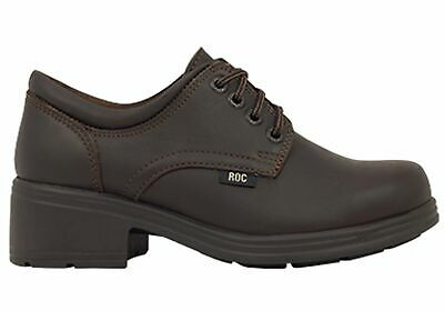 New Roc Dakota Older Girls/Ladies Brown School Shoes