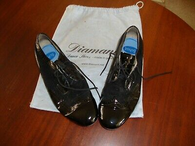 Diamant Dance Shoes, Mens size 8,with bag, vg condition